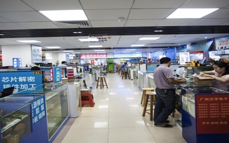 Chợ điện thoại linh phụ kiện điện tử lớn ở Thâm Quyến